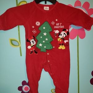 Mickey and Minnie Mouse Christmas Sleeper